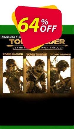 Tomb Raider Definitive Survivor Trilogy Xbox One - UK  Coupon discount Tomb Raider Definitive Survivor Trilogy Xbox One (UK) Deal 2021 CDkeys. Promotion: Tomb Raider Definitive Survivor Trilogy Xbox One (UK) Exclusive Sale offer for iVoicesoft