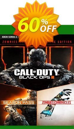Call of Duty: Black Ops III - Zombies Deluxe Xbox One - EU  Coupon discount Call of Duty: Black Ops III - Zombies Deluxe Xbox One (EU) Deal 2021 CDkeys - Call of Duty: Black Ops III - Zombies Deluxe Xbox One (EU) Exclusive Sale offer for iVoicesoft