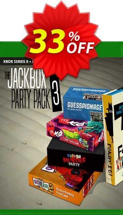 The Jackbox Party Pack 3 Xbox One - UK  Coupon discount The Jackbox Party Pack 3 Xbox One (UK) Deal 2021 CDkeys - The Jackbox Party Pack 3 Xbox One (UK) Exclusive Sale offer for iVoicesoft
