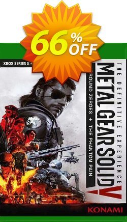 Metal Gear Solid V: The Definitive Experience Xbox One - UK  Coupon discount Metal Gear Solid V: The Definitive Experience Xbox One (UK) Deal 2021 CDkeys. Promotion: Metal Gear Solid V: The Definitive Experience Xbox One (UK) Exclusive Sale offer for iVoicesoft