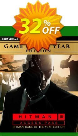 Hitman 3 Access Pass:  Hitman 1 GOTY Edition Xbox One - UK  Coupon discount Hitman 3 Access Pass:  Hitman 1 GOTY Edition Xbox One (UK) Deal 2021 CDkeys. Promotion: Hitman 3 Access Pass:  Hitman 1 GOTY Edition Xbox One (UK) Exclusive Sale offer for iVoicesoft