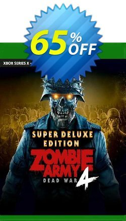 Zombie Army 4 Dead War Super Deluxe Edition Xbox One - UK  Coupon discount Zombie Army 4 Dead War Super Deluxe Edition Xbox One (UK) Deal 2021 CDkeys. Promotion: Zombie Army 4 Dead War Super Deluxe Edition Xbox One (UK) Exclusive Sale offer for iVoicesoft