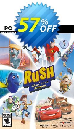 RUSH: A Disney • PIXAR Adventure PC Coupon discount RUSH: A Disney • PIXAR Adventure PC Deal. Promotion: RUSH: A Disney • PIXAR Adventure PC Exclusive offer for iVoicesoft