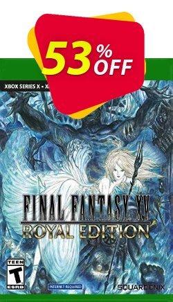Final Fantasy XV Royal Edition Xbox One - UK  Coupon discount Final Fantasy XV Royal Edition Xbox One (UK) Deal 2021 CDkeys. Promotion: Final Fantasy XV Royal Edition Xbox One (UK) Exclusive Sale offer for iVoicesoft