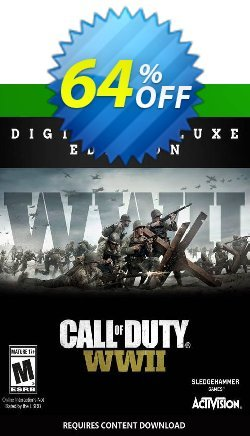 Call of Duty WWII - Digital Deluxe Xbox One - UK  Coupon discount Call of Duty WWII - Digital Deluxe Xbox One (UK) Deal 2021 CDkeys. Promotion: Call of Duty WWII - Digital Deluxe Xbox One (UK) Exclusive Sale offer for iVoicesoft