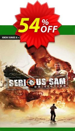 Serious Sam Collection Xbox One - UK  Coupon discount Serious Sam Collection Xbox One (UK) Deal 2021 CDkeys. Promotion: Serious Sam Collection Xbox One (UK) Exclusive Sale offer for iVoicesoft