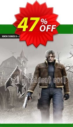 Resident Evil 4 Xbox One - UK  Coupon discount Resident Evil 4 Xbox One (UK) Deal 2021 CDkeys. Promotion: Resident Evil 4 Xbox One (UK) Exclusive Sale offer for iVoicesoft