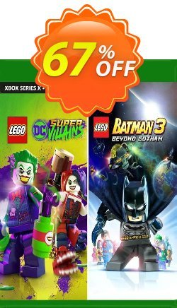 LEGO DC Heroes and Villains Bundle Xbox One - UK  Coupon discount LEGO DC Heroes and Villains Bundle Xbox One (UK) Deal 2021 CDkeys. Promotion: LEGO DC Heroes and Villains Bundle Xbox One (UK) Exclusive Sale offer for iVoicesoft