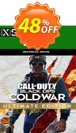 Call of Duty Black Ops Cold War - Ultimate Edition Xbox One - WW  Coupon discount Call of Duty Black Ops Cold War - Ultimate Edition Xbox One (WW) Deal 2021 CDkeys. Promotion: Call of Duty Black Ops Cold War - Ultimate Edition Xbox One (WW) Exclusive Sale offer for iVoicesoft