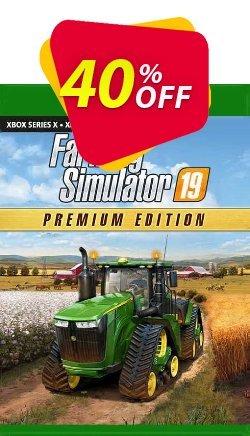 Farming Simulator 19 - Premium Edition Xbox One - UK  Coupon discount Farming Simulator 19 - Premium Edition Xbox One (UK) Deal 2021 CDkeys. Promotion: Farming Simulator 19 - Premium Edition Xbox One (UK) Exclusive Sale offer for iVoicesoft