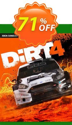 DiRT 4 Xbox One - UK  Coupon discount DiRT 4 Xbox One (UK) Deal 2021 CDkeys. Promotion: DiRT 4 Xbox One (UK) Exclusive Sale offer for iVoicesoft
