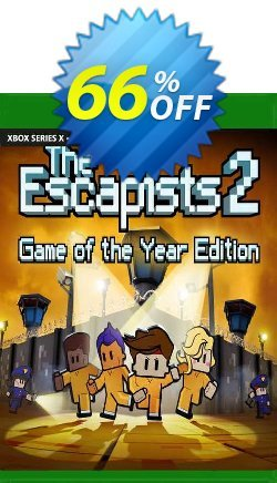 The Escapists 2 - GOTY Xbox One - UK  Coupon discount The Escapists 2 - GOTY Xbox One (UK) Deal 2021 CDkeys. Promotion: The Escapists 2 - GOTY Xbox One (UK) Exclusive Sale offer for iVoicesoft