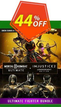 Mortal Kombat 11 Ultimate + Injustice 2 Leg. Edition Bundle Xbox One - UK  Coupon discount Mortal Kombat 11 Ultimate + Injustice 2 Leg. Edition Bundle Xbox One (UK) Deal 2021 CDkeys. Promotion: Mortal Kombat 11 Ultimate + Injustice 2 Leg. Edition Bundle Xbox One (UK) Exclusive Sale offer for iVoicesoft