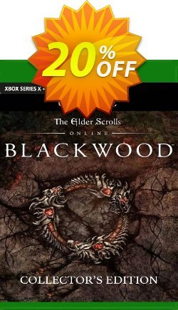 The Elder Scrolls Online: Blackwood Collector's Edition Upgrade Xbox One - UK  Coupon discount The Elder Scrolls Online: Blackwood Collector's Edition Upgrade Xbox One (UK) Deal 2021 CDkeys. Promotion: The Elder Scrolls Online: Blackwood Collector's Edition Upgrade Xbox One (UK) Exclusive Sale offer for iVoicesoft
