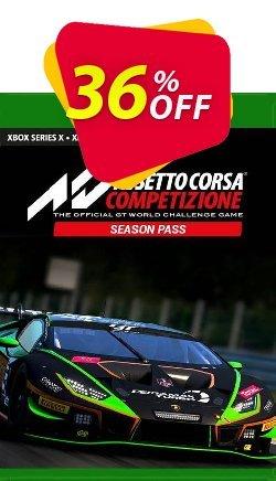 Assetto Corsa Competizione Season Pass Xbox One - UK  Coupon discount Assetto Corsa Competizione Season Pass Xbox One (UK) Deal 2021 CDkeys - Assetto Corsa Competizione Season Pass Xbox One (UK) Exclusive Sale offer for iVoicesoft