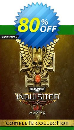 Warhammer 40000: Inquisitor - Martyr Complete Collection Xbox One - UK  Coupon discount Warhammer 40000: Inquisitor - Martyr Complete Collection Xbox One (UK) Deal 2021 CDkeys. Promotion: Warhammer 40000: Inquisitor - Martyr Complete Collection Xbox One (UK) Exclusive Sale offer for iVoicesoft