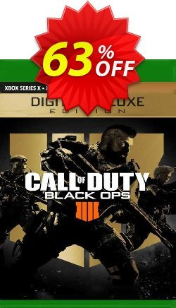 Call of Duty: Black Ops 4 - Digital Deluxe Xbox One - EU  Coupon discount Call of Duty: Black Ops 4 - Digital Deluxe Xbox One (EU) Deal 2021 CDkeys. Promotion: Call of Duty: Black Ops 4 - Digital Deluxe Xbox One (EU) Exclusive Sale offer for iVoicesoft