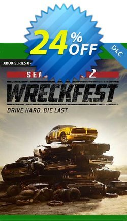 Wreckfest Season Pass 2 Xbox One - UK  Coupon discount Wreckfest Season Pass 2 Xbox One (UK) Deal 2021 CDkeys. Promotion: Wreckfest Season Pass 2 Xbox One (UK) Exclusive Sale offer for iVoicesoft