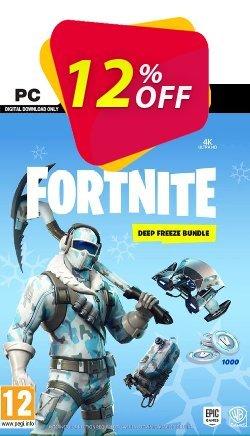 Fortnite Deep Freeze Bundle PC Coupon discount Fortnite Deep Freeze Bundle PC Deal - Fortnite Deep Freeze Bundle PC Exclusive offer for iVoicesoft