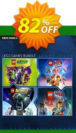 The LEGO Games Bundle Xbox One - US  Coupon discount The LEGO Games Bundle Xbox One (US) Deal 2021 CDkeys. Promotion: The LEGO Games Bundle Xbox One (US) Exclusive Sale offer for iVoicesoft