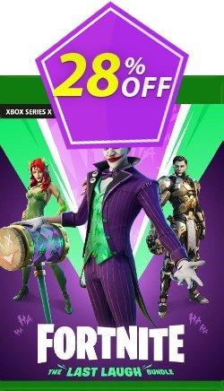 Fortnite - The Last Laugh Bundle Xbox One - US  Coupon discount Fortnite - The Last Laugh Bundle Xbox One (US) Deal 2021 CDkeys. Promotion: Fortnite - The Last Laugh Bundle Xbox One (US) Exclusive Sale offer for iVoicesoft