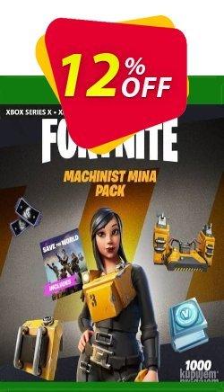 Fortnite - Machinist Mina Pack Xbox One - US  Coupon discount Fortnite - Machinist Mina Pack Xbox One (US) Deal 2021 CDkeys. Promotion: Fortnite - Machinist Mina Pack Xbox One (US) Exclusive Sale offer for iVoicesoft