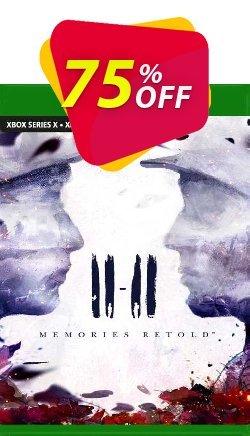 11-11 Memories Retold Xbox One - UK  Coupon discount 11-11 Memories Retold Xbox One (UK) Deal 2021 CDkeys. Promotion: 11-11 Memories Retold Xbox One (UK) Exclusive Sale offer for iVoicesoft
