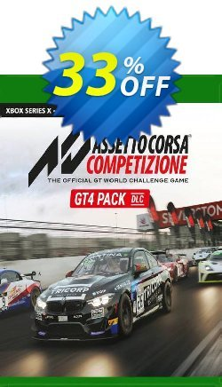 Assetto Corsa Competizione GT4 Pack Xbox One - UK  Coupon discount Assetto Corsa Competizione GT4 Pack Xbox One (UK) Deal 2021 CDkeys. Promotion: Assetto Corsa Competizione GT4 Pack Xbox One (UK) Exclusive Sale offer for iVoicesoft