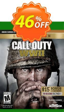 Call of Duty: WWII - Gold Edition Xbox One - EU  Coupon discount Call of Duty: WWII - Gold Edition Xbox One (EU) Deal 2021 CDkeys - Call of Duty: WWII - Gold Edition Xbox One (EU) Exclusive Sale offer for iVoicesoft