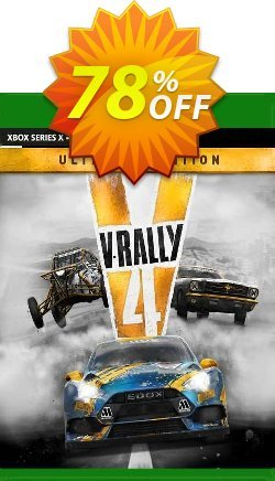 V-Rally 4 Ultimate Edition Xbox One - UK  Coupon discount V-Rally 4 Ultimate Edition Xbox One (UK) Deal 2021 CDkeys. Promotion: V-Rally 4 Ultimate Edition Xbox One (UK) Exclusive Sale offer for iVoicesoft