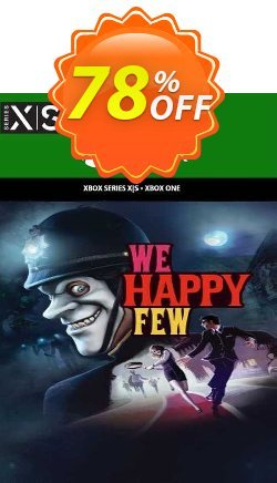 We Happy Few Xbox One - UK  Coupon discount We Happy Few Xbox One (UK) Deal 2021 CDkeys. Promotion: We Happy Few Xbox One (UK) Exclusive Sale offer for iVoicesoft