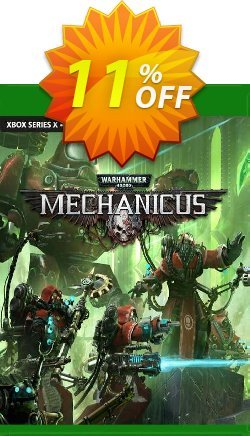 Warhammer 40,000: Mechanicus Xbox One - UK  Coupon discount Warhammer 40,000: Mechanicus Xbox One (UK) Deal 2021 CDkeys. Promotion: Warhammer 40,000: Mechanicus Xbox One (UK) Exclusive Sale offer for iVoicesoft