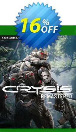 Crysis Remastered Xbox One - US  Coupon discount Crysis Remastered Xbox One (US) Deal 2021 CDkeys - Crysis Remastered Xbox One (US) Exclusive Sale offer for iVoicesoft