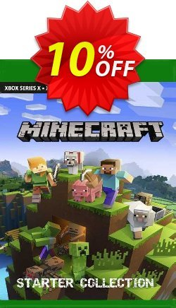 Minecraft Starter Collection Xbox One - EU  Coupon discount Minecraft Starter Collection Xbox One (EU) Deal 2021 CDkeys. Promotion: Minecraft Starter Collection Xbox One (EU) Exclusive Sale offer for iVoicesoft