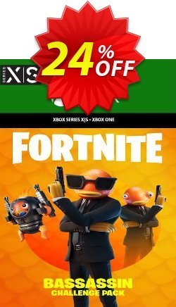 Fortnite - Bassassin Challenge Pack Xbox One - US  Coupon discount Fortnite - Bassassin Challenge Pack Xbox One (US) Deal 2021 CDkeys - Fortnite - Bassassin Challenge Pack Xbox One (US) Exclusive Sale offer for iVoicesoft