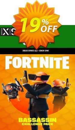 Fortnite - Bassassin Challenge Pack Xbox One - EU  Coupon discount Fortnite - Bassassin Challenge Pack Xbox One (EU) Deal 2021 CDkeys. Promotion: Fortnite - Bassassin Challenge Pack Xbox One (EU) Exclusive Sale offer for iVoicesoft