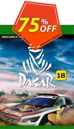 Dakar 18 Xbox One - UK  Coupon discount Dakar 18 Xbox One (UK) Deal 2021 CDkeys. Promotion: Dakar 18 Xbox One (UK) Exclusive Sale offer for iVoicesoft