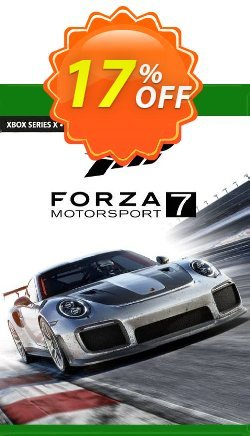 Forza Motorsport 7 Standard Edition Xbox One - EU  Coupon discount Forza Motorsport 7 Standard Edition Xbox One (EU) Deal 2021 CDkeys. Promotion: Forza Motorsport 7 Standard Edition Xbox One (EU) Exclusive Sale offer for iVoicesoft