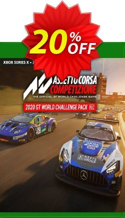 Assetto Corsa Competizione - 2020 GT World Challenge Pack Xbox One - UK  Coupon discount Assetto Corsa Competizione - 2020 GT World Challenge Pack Xbox One (UK) Deal 2021 CDkeys - Assetto Corsa Competizione - 2020 GT World Challenge Pack Xbox One (UK) Exclusive Sale offer for iVoicesoft