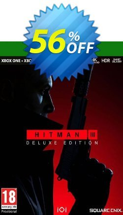HITMAN 3 Deluxe Edition Xbox One/Xbox Series X|S Coupon discount HITMAN 3 Deluxe Edition Xbox One/Xbox Series X|S Deal 2021 CDkeys. Promotion: HITMAN 3 Deluxe Edition Xbox One/Xbox Series X|S Exclusive Sale offer for iVoicesoft
