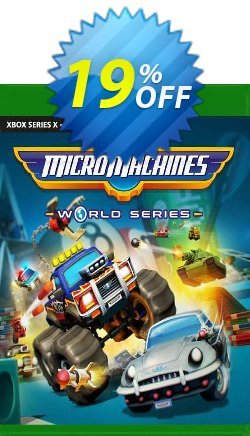 Micro Machines World Series Xbox One - US  Coupon discount Micro Machines World Series Xbox One (US) Deal 2021 CDkeys - Micro Machines World Series Xbox One (US) Exclusive Sale offer for iVoicesoft