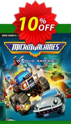 Micro Machines World Series Xbox One - EU  Coupon discount Micro Machines World Series Xbox One (EU) Deal 2021 CDkeys - Micro Machines World Series Xbox One (EU) Exclusive Sale offer for iVoicesoft