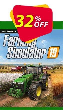 Farming Simulator 19 Xbox One - EU  Coupon discount Farming Simulator 19 Xbox One (EU) Deal 2021 CDkeys. Promotion: Farming Simulator 19 Xbox One (EU) Exclusive Sale offer for iVoicesoft