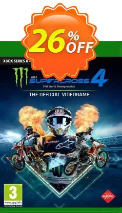 Monster Energy Supercross 4 Xbox One - UK  Coupon discount Monster Energy Supercross 4 Xbox One (UK) Deal 2021 CDkeys. Promotion: Monster Energy Supercross 4 Xbox One (UK) Exclusive Sale offer for iVoicesoft
