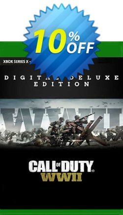 Call of Duty: WWII - Digital Deluxe Xbox One - EU  Coupon discount Call of Duty: WWII - Digital Deluxe Xbox One (EU) Deal 2021 CDkeys. Promotion: Call of Duty: WWII - Digital Deluxe Xbox One (EU) Exclusive Sale offer for iVoicesoft