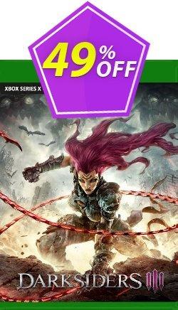 Darksiders III Xbox One - EU  Coupon discount Darksiders III Xbox One (EU) Deal 2021 CDkeys. Promotion: Darksiders III Xbox One (EU) Exclusive Sale offer for iVoicesoft