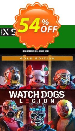 Watch Dogs Legion - Gold Edition Xbox One - WW  Coupon discount Watch Dogs Legion - Gold Edition Xbox One (WW) Deal 2021 CDkeys - Watch Dogs Legion - Gold Edition Xbox One (WW) Exclusive Sale offer for iVoicesoft