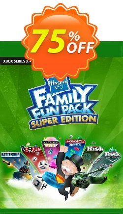 Hasbro Family Fun Pack - Super Edition Xbox One - EU  Coupon discount Hasbro Family Fun Pack - Super Edition Xbox One (EU) Deal 2021 CDkeys. Promotion: Hasbro Family Fun Pack - Super Edition Xbox One (EU) Exclusive Sale offer for iVoicesoft