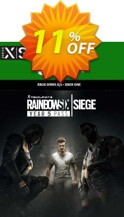 Tom Clancy's Rainbow Six Siege - Year 5 Pass Xbox One - UK  Coupon discount Tom Clancy's Rainbow Six Siege - Year 5 Pass Xbox One (UK) Deal 2021 CDkeys - Tom Clancy's Rainbow Six Siege - Year 5 Pass Xbox One (UK) Exclusive Sale offer for iVoicesoft