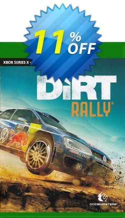Dirt Rally Xbox One - UK  Coupon discount Dirt Rally Xbox One (UK) Deal 2021 CDkeys. Promotion: Dirt Rally Xbox One (UK) Exclusive Sale offer for iVoicesoft